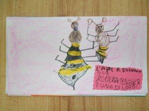 L'ape Regina accoglie Gianna nel suo alveare: ora è una di loro!!