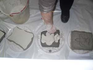 Gesso liquido per stampi modificare una pelliccia for Gomme siliconiche per calchi