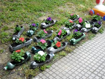 Il giornale della rete primavera for Contenitori in plastica da giardino